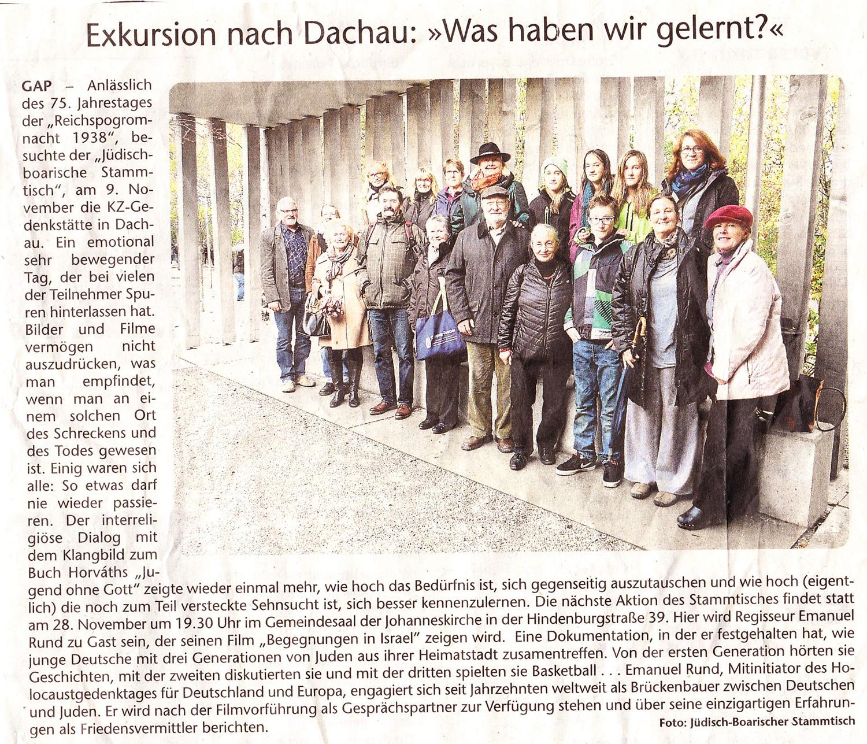 Enkelt Stammtisch Dachau